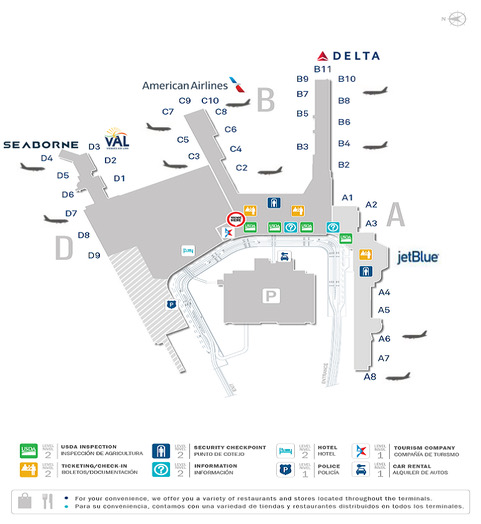San Juan Airport Map SJU map base (1)   Seaborne Airlines